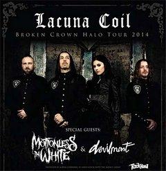 Preview : LACUNA COIL kommen mit neuem Album Broken Crown Halo auf Tour