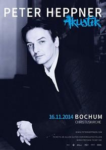 Preview : PETER HEPPNER auf Akustik-Tour 2014
