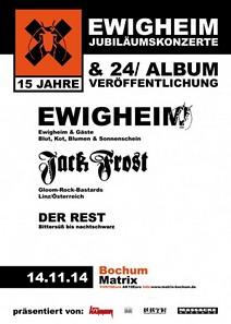 Preview : EWIGHEIM feiern 15. Jubiläum mit großem Event in der Matrix Bochum