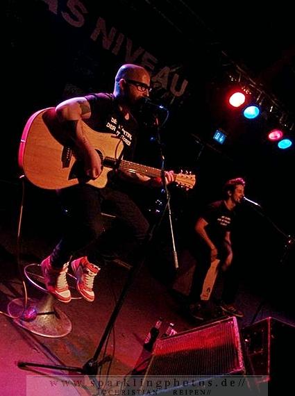 """DAS NIVEAU - """"Reste von morgen""""- Tour 2014 - Köln, Underground (24.10.2014)"""