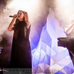 ZOLA JESUS & BLACK ASTEROID - Köln, Gebäude 9 (10.11.2014)