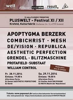 Preview : PLUSWELT PROMOTIONS feiert Jubiläum mit Festival in Krefeld