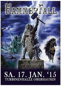 Preview : HAMMERFALL setzten mit aktuellem Album und Tour zur (r)Evolution an!