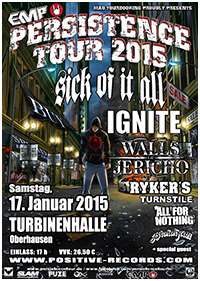 Preview : Die EMP PERSISTENCE TOUR kommt auch 2015 nach Oberhausen - alle Termine inside