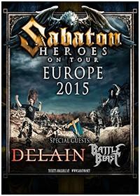 Preview : SABATON ab Anfang Januar 2015 auf großer Europatour