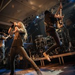 EPICA, DRAGONFORCE & DIABLO BLVD. - Köln, Essigfabrik (31.01.2015)