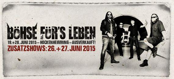 IN EXTREMO sind erster Special Guest der BÖHSE ONKELZ Shows 2015 am Hockenheimring