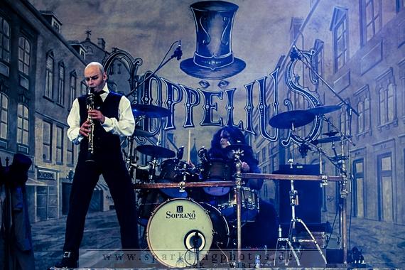 Preview : COPPELIUS mit Heavy Wood zum neuen Album Hertzmaschine live auf Tour