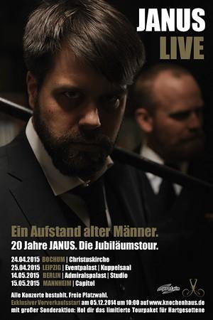 Preview : 20 Jahre JANUS - Die Jubiläumstour 2015
