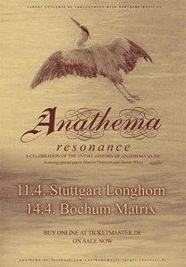 Preview : ANATHEMA für 2 Clubkonzerte und Festivals on tour!
