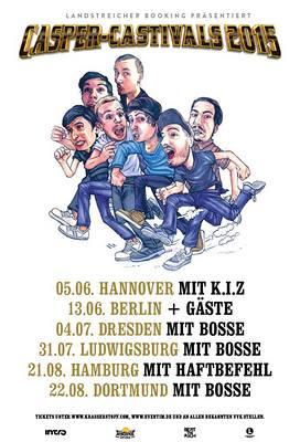 Preview : CASPER läd zu eigenen Festivals in 6 deutsche Städte