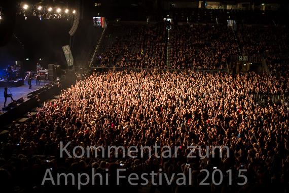 Kommentar zum AMPHI FESTIVAL 2015 im neuen Amphi Eventpark in Köln