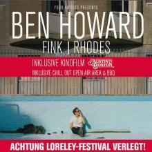 BEN HOWARD & FRIENDS wird von der Loreley ins Palladium Köln verlegt!