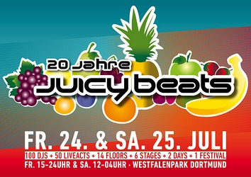 Preview : Das 20. JUICY BEATS läd am 24.+25. Juli nach Dortmund
