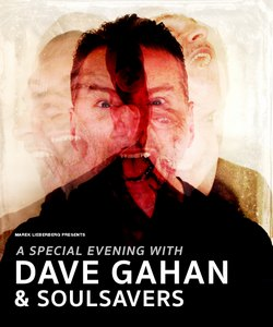 Preview : DAVE GAHAN (DEPECHE MODE) gemeinsam mit SOULSAVERS live in Berlin am 30.10.2015