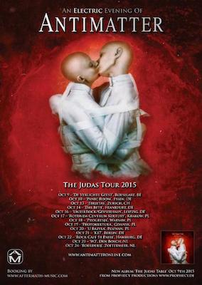 "Preview : ANTIMATTER stellen neues Album ""The Judas Table"" live vor"