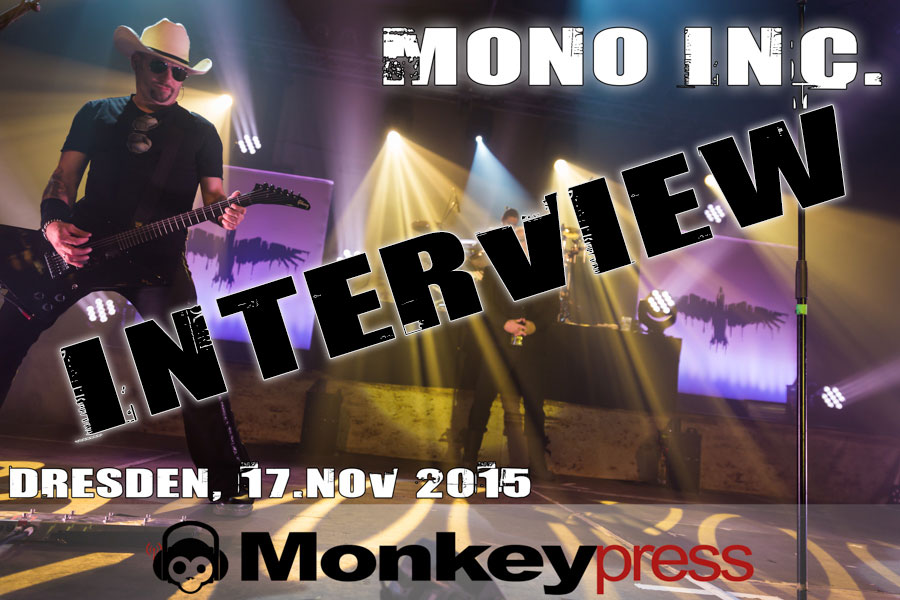 Interview mit MONO INC. in Dresden