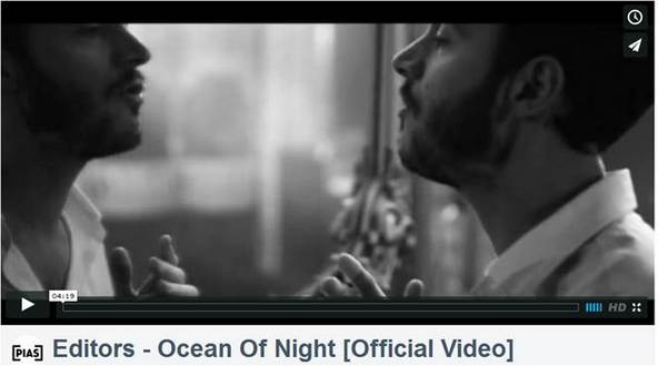 Video: EDITORS - Ocean Of Night