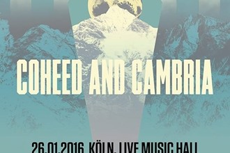 "Coheed And Cambria auf ""The Color Before The Sun"" Tour"