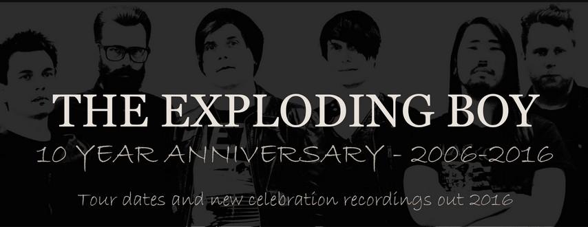 10 Jahre THE EXPLODING BOY mit neuem Material, IAMX Drummer und vielem mehr