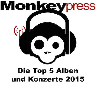 Die persönlichen Top 5 Alben & Konzerte 2015 des Monkeypress.de-Teams
