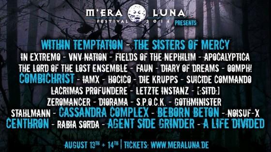 Das M'era Luna Festival 2016