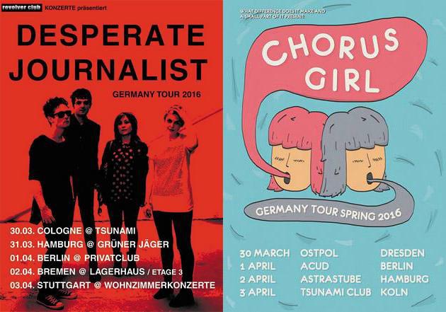 Eventtipps für Köln: DESPERATE JOURNALIST & CHORUSGIRL!
