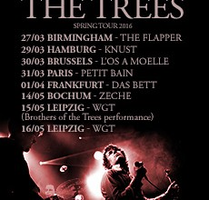 AND ALSO THE TREES Springtour 2016