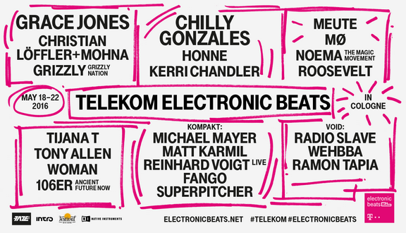 GRACE JONES eröffnet am 18. Mai Telekom Electronic Beats 2016!