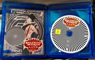 Saltatio Mortis BluRay aufgeklappt