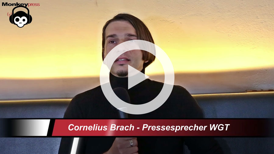 Interview: WGT-Pressesprecher CORNELIUS BRACH