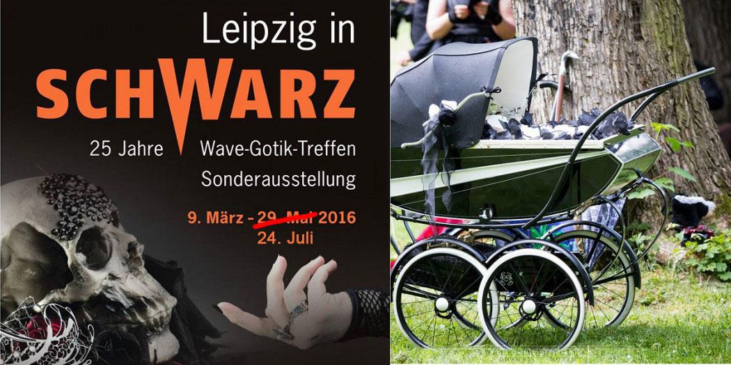 """WGT 2016 - Ausstellung """"Leipzig in Schwarz"""""""