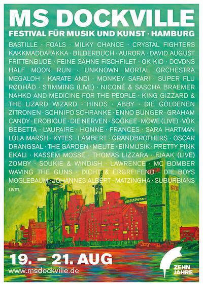 MS Dockville Festival 2016 - Alle Infos, News, Bandbestätigungen und Co.