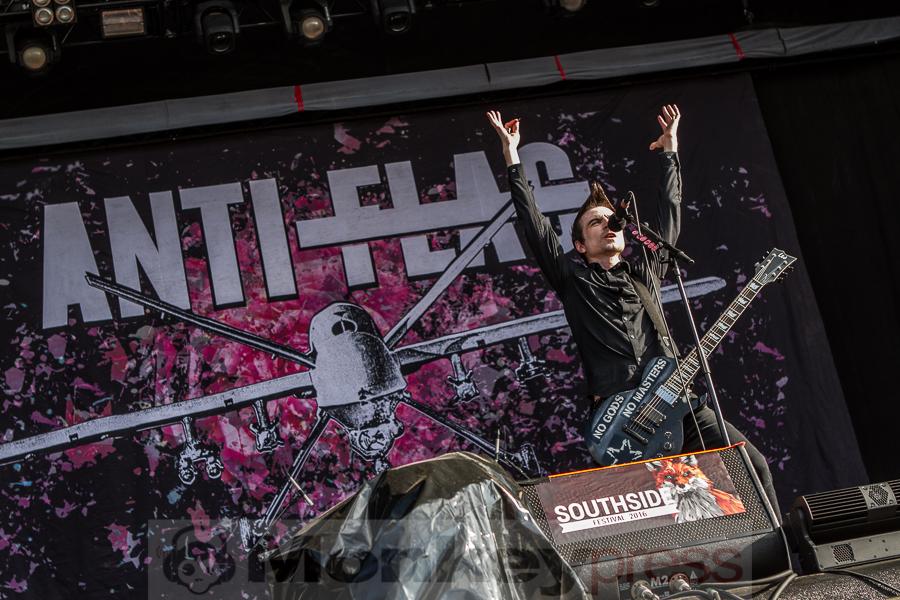Anti-Flag, © Markus Hillgärtner