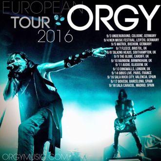 ORGY erstmals in Deutschland!