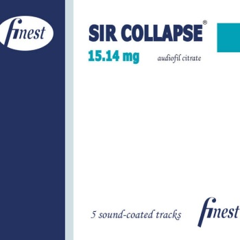 SIR COLLAPSE - 15.14 mg Audiofil Citrate (EP)