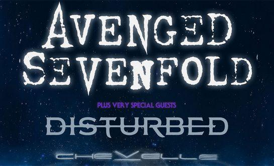 AVENGED SEVENFOLD gehen 2017 mit DISTURBED & CHEVELLE auf Tour