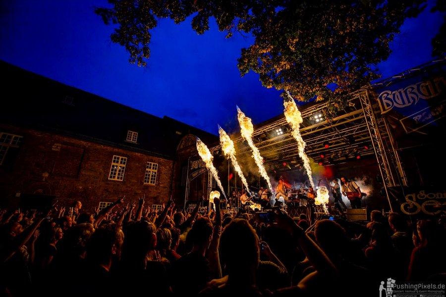 BURGFOLK FESTIVAL 2016 - Mülheim an der Ruhr, Schloss Broich (19.+20.08.2016)