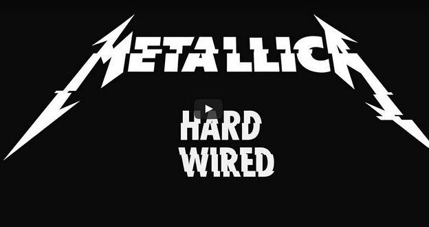 """METALLICA veröffentlichen Video zu neuer Single """"Hardwired"""""""