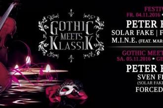 GOTHIC MEETS KLASSIK am 4. und 5. November 2016 in Leipzig