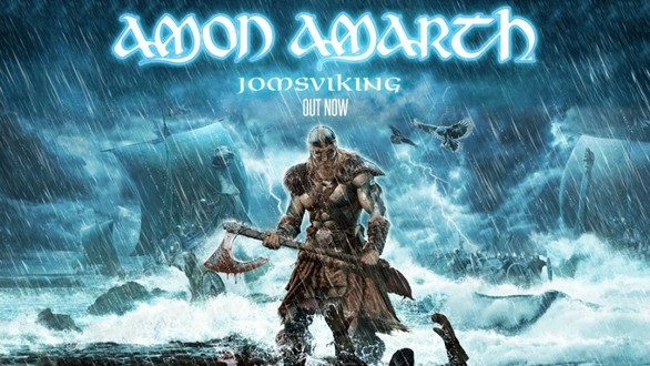 "AMON AMARTH Ende Oktober 2016 auf ""Jomsviking"" Tour"