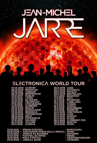 Jean-Michel Jarre -  Electronica World Tour