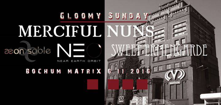 [Abgesagt] GLOOMY SUNDAY in Bochum - Ein Festival-Projekt möchte Fuß fassen