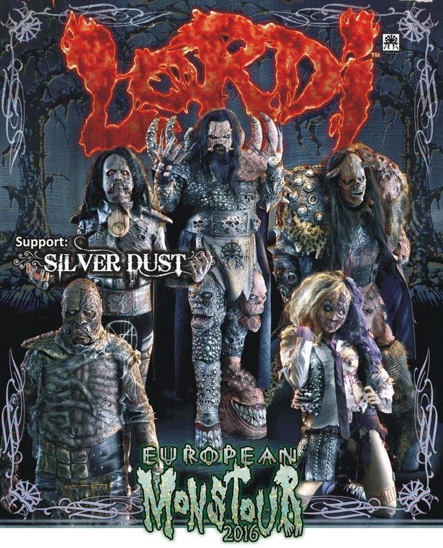 Lordi European Monstour 2016
