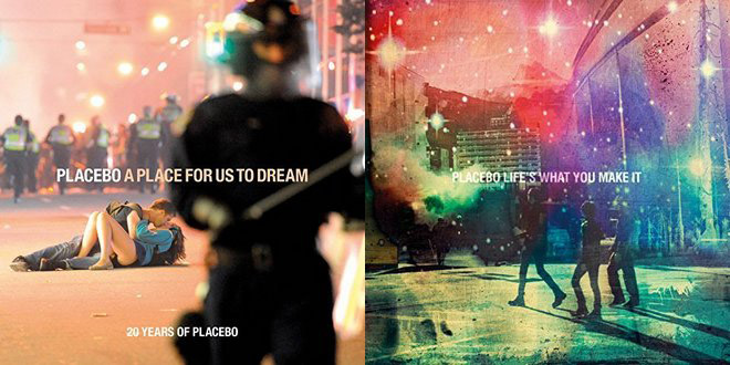 PLACEBO - A Place For Us To Dream (2-CD) & Life's What You Make It EP