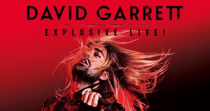 Stargeiger DAVID GARRETT auf explosiver Tour