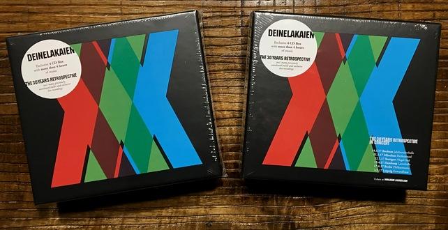 [BEENDET] DEINE LAKAIEN Retrospektive XXX mit 60 Songs auf 4-CDs zu gewinnen!