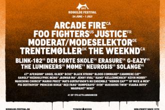 THE WEEKND als Headliner auf dem Roskilde Festival
