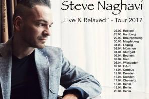 STEVE NAGHAVI (AND ONE) geht auf Solo-Tour 2017