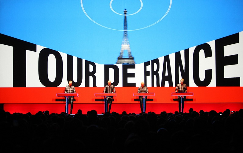 KRAFTWERK Konzert in Düsseldorf zum Start der Tour De France 2017